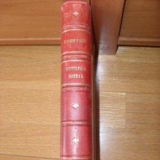 Libros de segunda mano: ELEMENTOS DE HISTOLOGIA NORMAL Y DE TECNICA MICROGRAFICA RAMON Y CAJAL Y J.TELLO. Lote 50316713