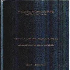 Libros de segunda mano: TESIS DOCTORAL ESTUDIO MULTIFACTORIAL DE LA ENFERMEDAD DE HODGKIN, GEMMA ECHEZARRETA PÉREZ. Lote 50352140