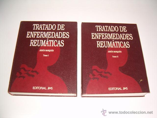 JESÚS MARQUÉS. TRATADO DE ENFERMEDADES REUMÁTICAS. TOMOS I Y II. DOS TOMOS. RM70301. (Libros de Segunda Mano - Ciencias, Manuales y Oficios - Medicina, Farmacia y Salud)
