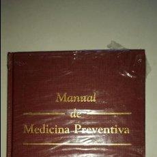 Libros de segunda mano: MANUAL DE MEDICINA PREVENTIVA. G. GARRIDO CANTARERO. Lote 51061267