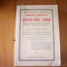 Libros de segunda mano: ALIMENTACIÓN RACIONAL Y CRUDÍVORA. Lote 51076573