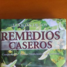 Libros de segunda mano: LEXICÓN DE LOS REMEDIOS CASEROS. Lote 51104194