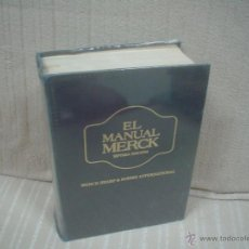Libros de segunda mano: EL MANUAL MERCK DE DIAGNÓSTICO Y TERAPEUTICA. Lote 51117031