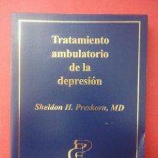 Libros de segunda mano: TRATAMIENTO AMBULATORIO DE LA DEPRESIÓN. SHELDON H.. Lote 51155615