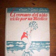 Libros de segunda mano: GARRIDO LESTACHE, JUAN. EL VERANEO DEL NIÑO VISTO POR UN MÉDICO : CONSEJOS PARA LOS PADRES Y ORIENTA. Lote 51217718