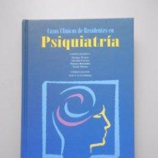 Libros de segunda mano: CASOS CLÍNICOS DE RESIDENTES EN PSIQUIATRÍA. ENRIQUE ALVAREZ. SALVADOR CERVERA. M. HERNANDEZ. TDK256. Lote 179126152