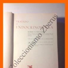 Libros de segunda mano: TRATADO DE ENDOCRINOLOGIA - ROBERT H. WILLIAMS. Lote 51391048