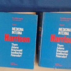 Libros de segunda mano: LIBRO- MEDICINA INTERNA, H A R R I S O N--TOMOS I Y II- AÑO 1980. Lote 51626769
