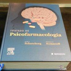 Libros de segunda mano: TRATADO DE PSICOFARMACOLOGIA CHARLES B. NEMEROFF; ALAN F. SCHATZBERG , MASSON, 2006. Lote 51673425