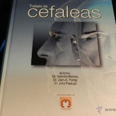 Libros de segunda mano: TRATADO DE LAS CEFALEAS VALENTIN MATEOS JUAN A PAREJA JULIO PASCUAL ED LUZÁN 5 2009 DESCATALOGADO. Lote 51673697