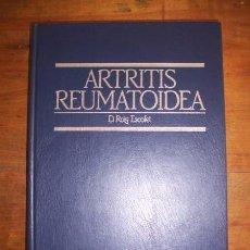 Libros de segunda mano: ROIG ESCOFET, D. ARTRITIS REUMATOIDEA. Lote 51703363
