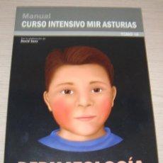 Libros de segunda mano: DERMATOLOGÍA - MANUAL - CURSO INTENSIVO MIR ASTURIAS - TOMO 16 - 2012. Lote 51785635