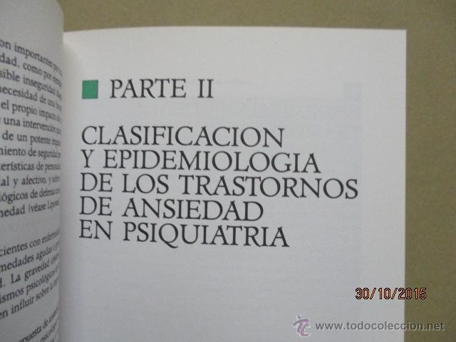 Libros de segunda mano: PSICOBIOLOGÍA Y TERAPEUTICA DE LA ANSIEDAD EN LA PRÁCTICA MEDICA MASSIMO BIONDI - Foto 8 - 52443431