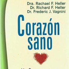 Libros de segunda mano: CORAZÓN SANO DRA. RACHEL F. HELLER. Lote 52654338