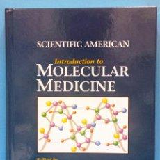 Libros de segunda mano: SCIENTIFIC AMERICAN MOLECULAR MEDICINE PHILIP LEDER DAVID A CLAYTON E. RUBENSTEIN MEDICINA MOLECULAR. Lote 52870450