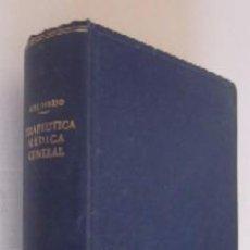 Libros de segunda mano: TERAPEUTICA MEDICA GENERAL - L. FERRIO. Lote 52877953