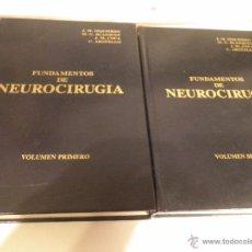 Libros de segunda mano: FUNDAMENTOS DE NEUROCIRUGIA,1979. Lote 52928127