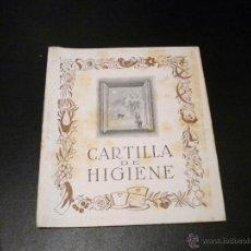 Libros de segunda mano: CARTILLA DE HIGIENE 1953 / DELEGACION NACIONAL DE LA SECCION FEMENINA DE FET Y DE LAS JONS. Lote 52959747