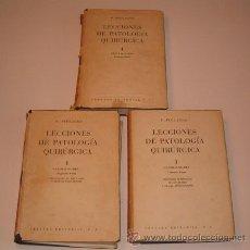 Libros de segunda mano: P. PIULACHS. LECCIONES DE PATOLOGÍA QUIRÚRGICA. TRES TOMOS. RM72487. . Lote 53368275