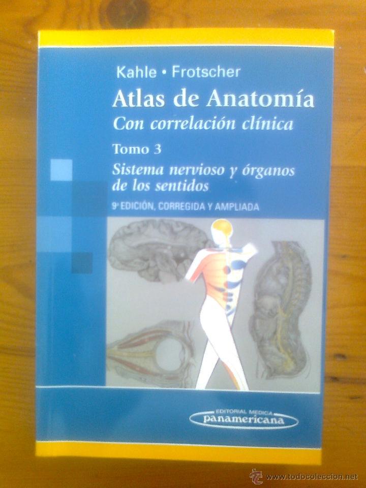 atlas de anatomía sistema nervioso y organos de - Comprar Libros de ...