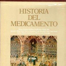 Libros de segunda mano: HISTORIA DEL MEDICAMENTO. EDICIÓN DE 2 TOMOS. (DOYMA-1984). Lote 53645953