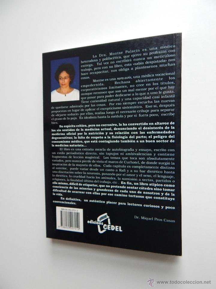 Libros de segunda mano: Por una medicina respetuosa y sostenible - Dra. Montserrat Palacín, 2005 - Autógrafo - Foto 2 - 53781323