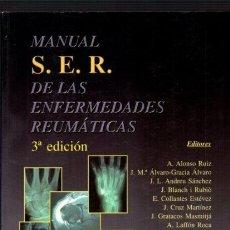 Libros de segunda mano: MANUAL S.E.R. DE LAS ENFERMEDADES REUMÁTICAS - PANAMERICANA 2000. Lote 54271357