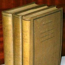 Libros de segunda mano: MANUAL DE PATOLOGÍA QUIRÚRGICA 3T POR RAFAEL ARGUELLES DE ED. CIENTÍFICO MÉDICA EN BARCELONA 1942. Lote 54286374