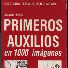 Libros de segunda mano: PRIMEROS AUXILIOS EN 1000 IMAGENES --------(REF M1 E1). Lote 54699541
