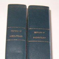 Libros de segunda mano: TEXTBOOK OF RHEUMATOLOGY. DOS TOMOS. RM73481.. Lote 54799805