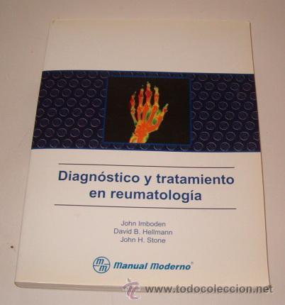 JOHN IMBODEN, DAVID B. HELLMANN, JOHN H. STONE. DIAGNÓSTICO Y TRATAMIENTO EN REUMATOLOGÍA. RM73679. (Libros de Segunda Mano - Ciencias, Manuales y Oficios - Medicina, Farmacia y Salud)