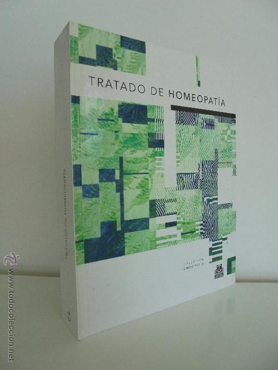 TRATADO DE HOMEOPATIA. COLECCION HOMEOPATIA. EDITORIAL PAIDOTRIBO 2000. VER FOTOGRAFIAS ADJUNTAS. (Libros de Segunda Mano - Ciencias, Manuales y Oficios - Medicina, Farmacia y Salud)