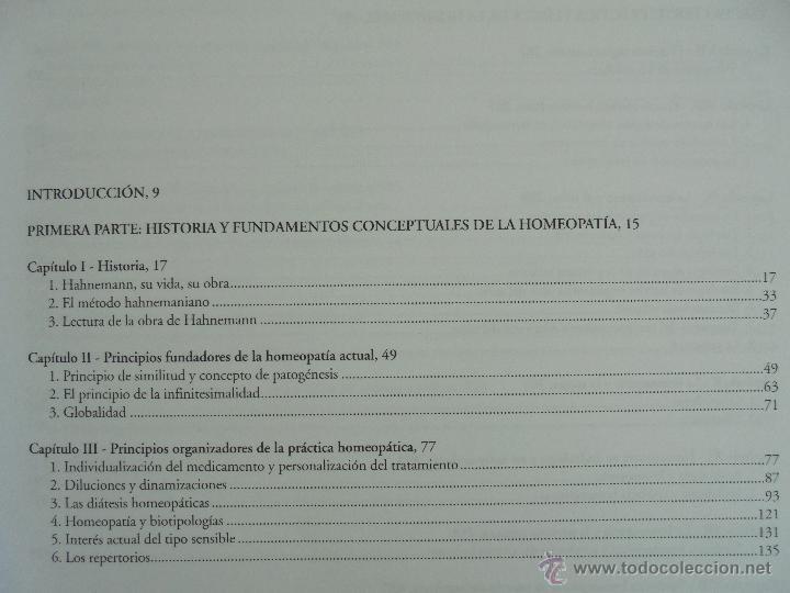 Libros de segunda mano: TRATADO DE HOMEOPATIA. COLECCION HOMEOPATIA. EDITORIAL PAIDOTRIBO 2000. VER FOTOGRAFIAS ADJUNTAS. - Foto 9 - 217854118