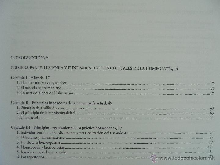 Libros de segunda mano: TRATADO DE HOMEOPATIA. COLECCION HOMEOPATIA. EDITORIAL PAIDOTRIBO 2000. VER FOTOGRAFIAS ADJUNTAS. - Foto 10 - 217854118