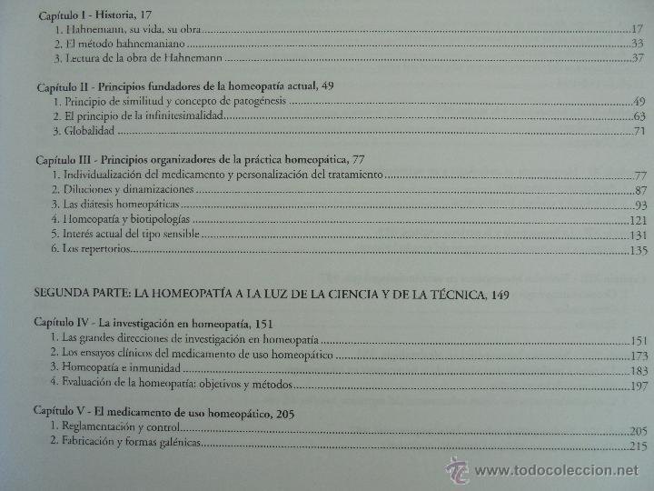 Libros de segunda mano: TRATADO DE HOMEOPATIA. COLECCION HOMEOPATIA. EDITORIAL PAIDOTRIBO 2000. VER FOTOGRAFIAS ADJUNTAS. - Foto 11 - 217854118