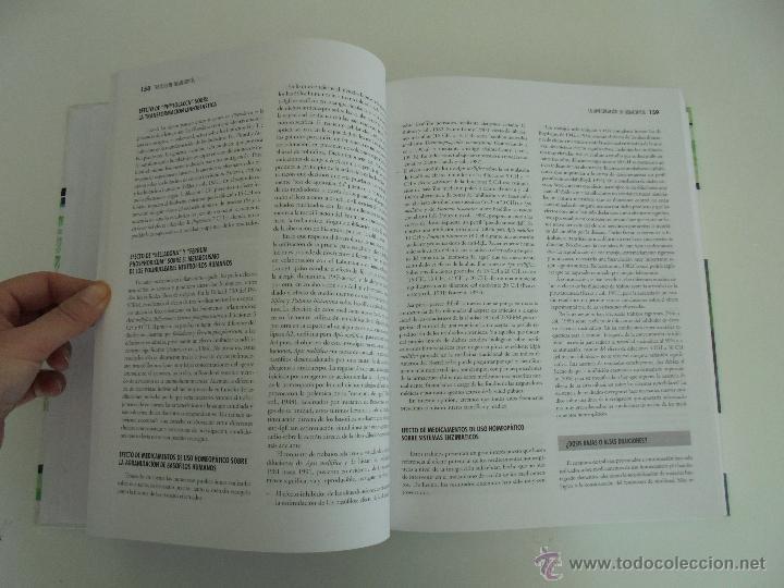 Libros de segunda mano: TRATADO DE HOMEOPATIA. COLECCION HOMEOPATIA. EDITORIAL PAIDOTRIBO 2000. VER FOTOGRAFIAS ADJUNTAS. - Foto 17 - 217854118