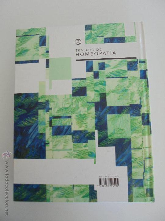 Libros de segunda mano: TRATADO DE HOMEOPATIA. COLECCION HOMEOPATIA. EDITORIAL PAIDOTRIBO 2000. VER FOTOGRAFIAS ADJUNTAS. - Foto 26 - 217854118