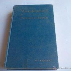 Libros de segunda mano: MICROBIOLOGÍA Y PARASITOLOGÍA. V. MATILLA, PUMAROLA Y OTROS. 1980. Lote 55063935