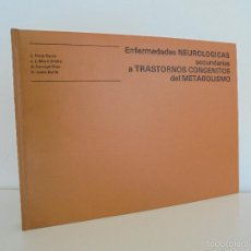 Libros de segunda mano: J. PEREZ SERRA. D. GENIS BATLLE. J.L. MARTIN VILALTA. ENFERMEDADES NEUROLOGICAS SECUNDARIAS .... Lote 55116257