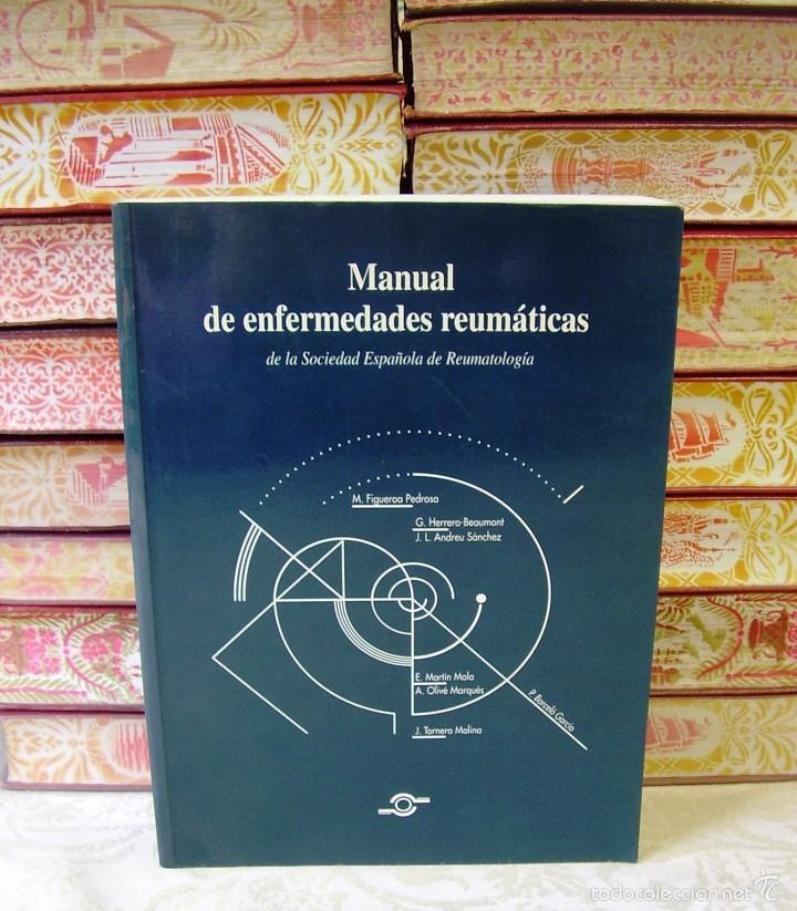 MANUAL DE ENFERMEDADES REUMÁTICAS . (Libros de Segunda Mano - Ciencias, Manuales y Oficios - Medicina, Farmacia y Salud)