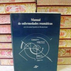 Libros de segunda mano: MANUAL DE ENFERMEDADES REUMÁTICAS . . Lote 55948283
