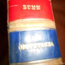 Libros de segunda mano: TRATADO MUY COMPLETO DE OBSTETRICIA. Lote 55998879