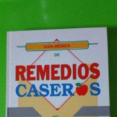 Libros de segunda mano: GUÍA MÉDICA DE REMEDIOS CASEROS LIBRO DE GRAN FORMATO EN TAPAS DURAS. Lote 56272438