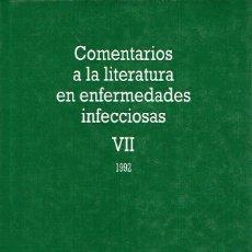 Libros de segunda mano: COMENTARIOS A LA LITERATURA EN ENFERMEDADES INFECCIOSAS, VII. - EMILIO BOUZA.. Lote 56358133