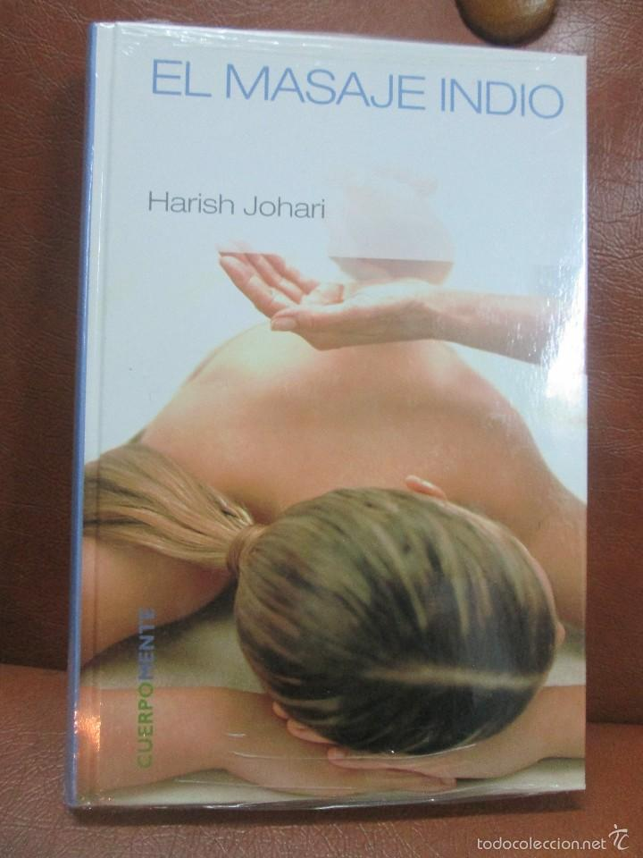 LIBRO:EL MASAJE INDIO DE HARISH JOHARI (Libros de Segunda Mano - Ciencias, Manuales y Oficios - Medicina, Farmacia y Salud)