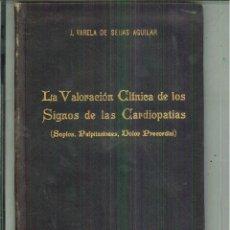 Libros de segunda mano: LA VALORACIÓN CLÍNICA DE LOS SIGNOS DE CARDIOPATÍAS. J. VARELA DE SEIJAS AGUILAR. Lote 56508019