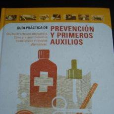 Libros de segunda mano: GUIA PRACTICA DE PREVENCION Y PRIMEROS AUXILIOS. CILRCULO DE LECTORES.. Lote 56550636
