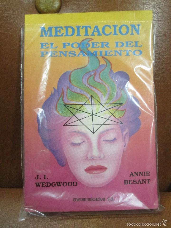 LIBRO: MEDITACIÓN-EL PODER DEL PENSAMIENTO DE ANNIE BESANT (Libros de Segunda Mano - Ciencias, Manuales y Oficios - Medicina, Farmacia y Salud)