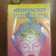 Libros de segunda mano: LIBRO: MEDITACIÓN-EL PODER DEL PENSAMIENTO DE ANNIE BESANT. Lote 56748752