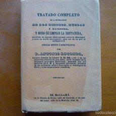 Libros de segunda mano: TRATADO COMPLETO DE LA EXTRACCION DE LOS DIENTES, MUELAS Y RAIGONES. Lote 56808323